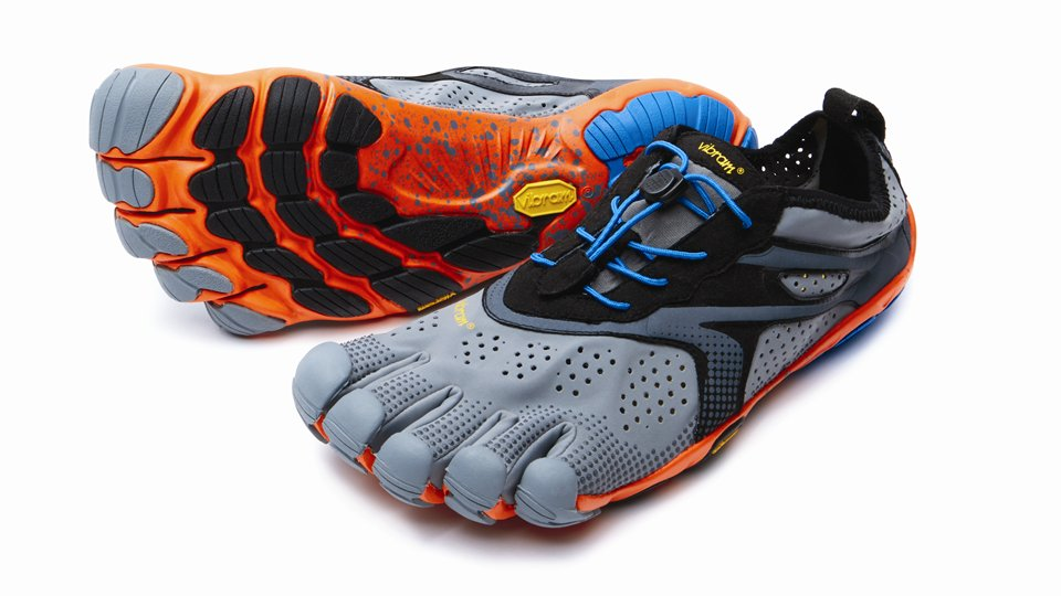 Bikila EVO 2 Grey Blue Orange