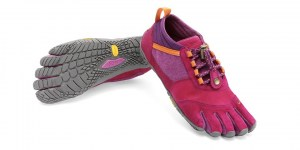 Trek Ascent LR Pink Grey Orange Vibram Fivefingers Ireland