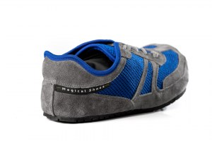Everyday Barefoot Shoes - Explorer Blue and Grey