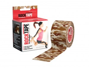 Rocktape 5cm Brown Camo Camouflage Pattern