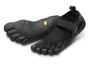 Womens Flow Black Vibram Fivefingers Ireland VFF