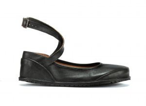 Black Ballerina Flat Barefoot Shoes Ireland