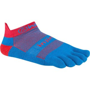 Injinji Run Original Toe Socks (Blue/Red)
