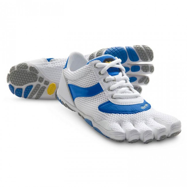 Women Speed White Blue Vibram Fivefingers Ireland